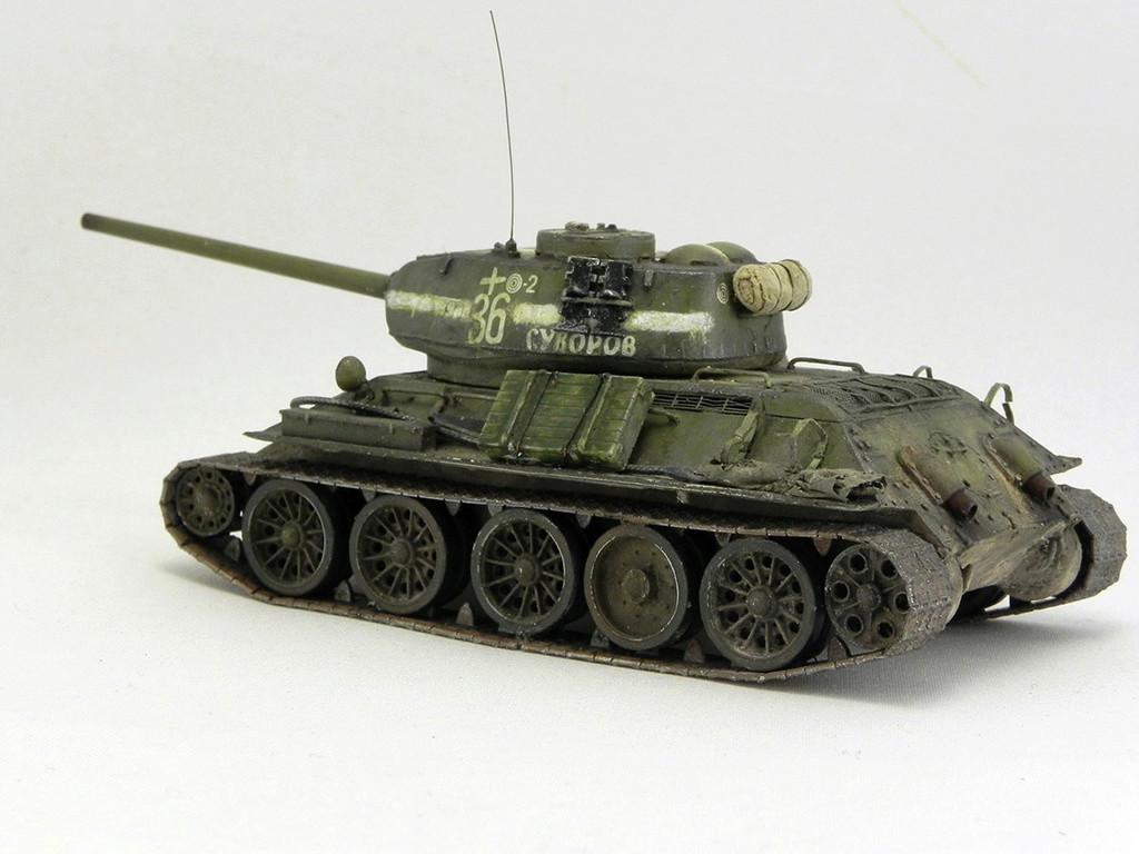 """Т-34-85 """"Суворов"""" 10214"""