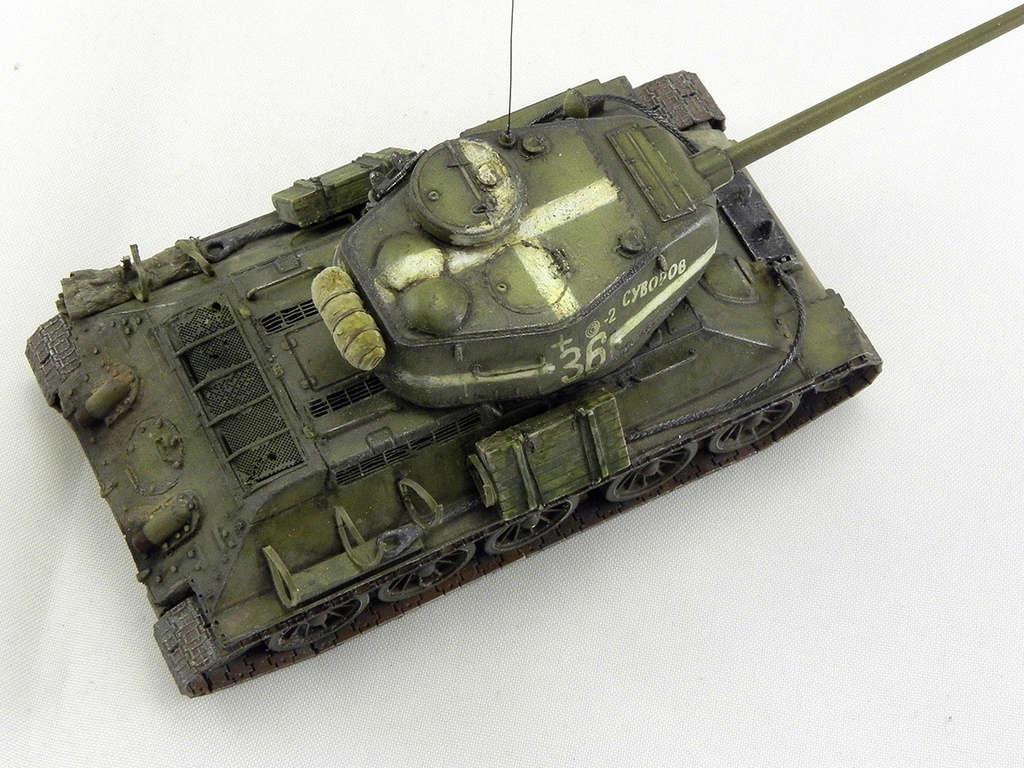 """Т-34-85 """"Суворов"""" 10814"""