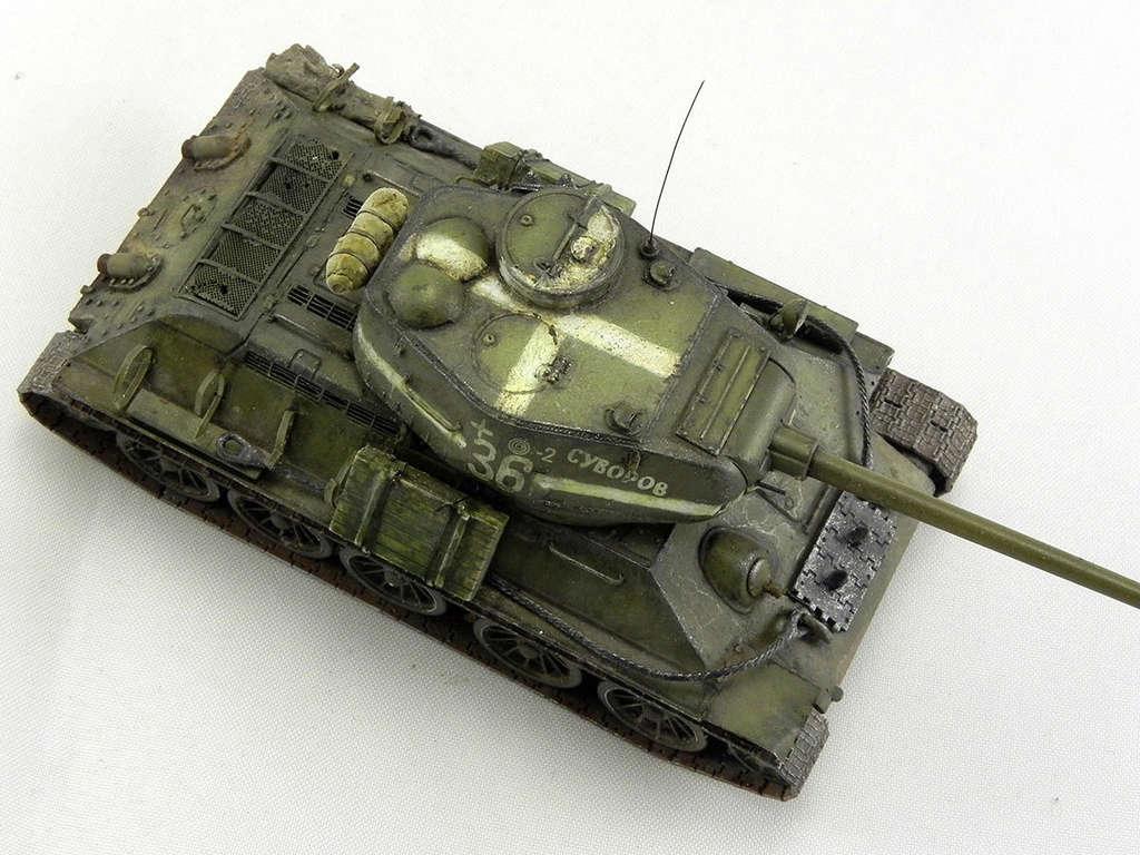 """Т-34-85 """"Суворов"""" 10914"""
