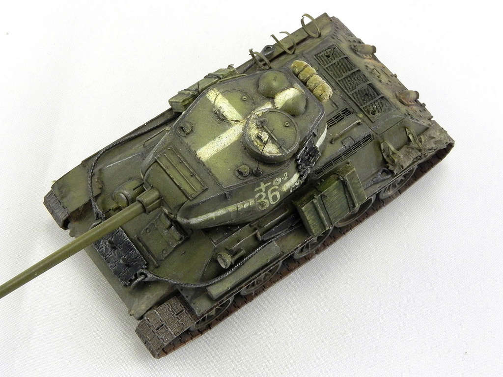 """Т-34-85 """"Суворов"""" 11014"""