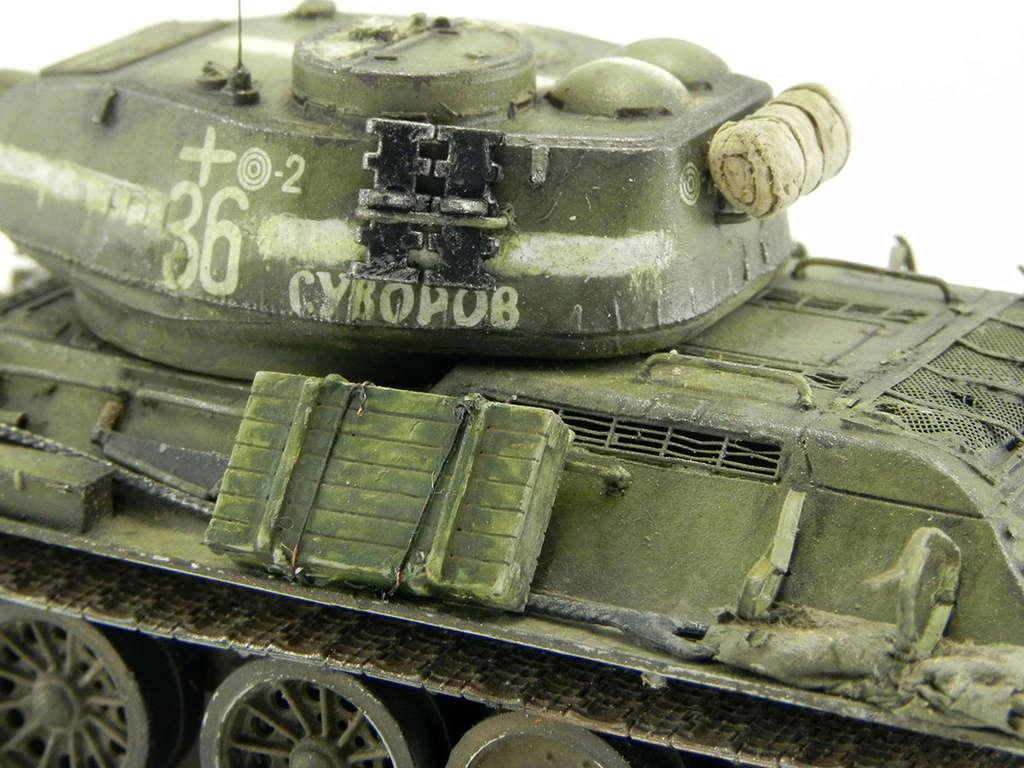 """Т-34-85 """"Суворов"""" 11114"""
