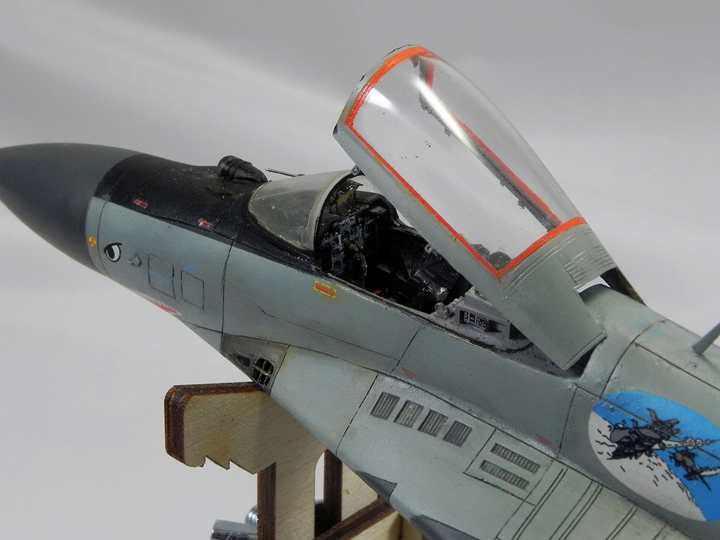 МиГ-29 (9-13) 1:48 Eduard 11611