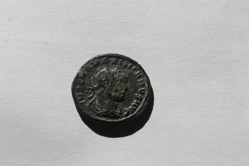 Aureliano de Maximiano Hércules. CONCORDIA MI-LITVM. Emperador y Júpiter. Heraclea 126_210