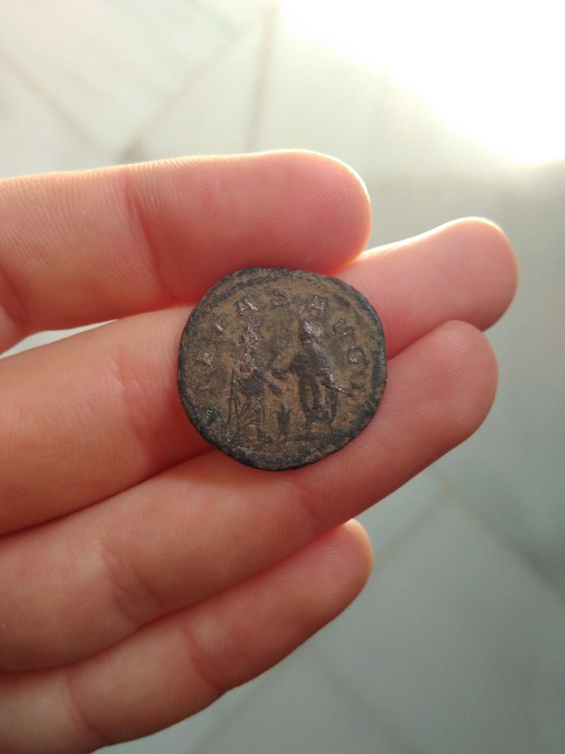 Antoniniano de Galieno. PIETAS AVGG. Emperadores dándose la mano. Samosata o Antioquía 306_210