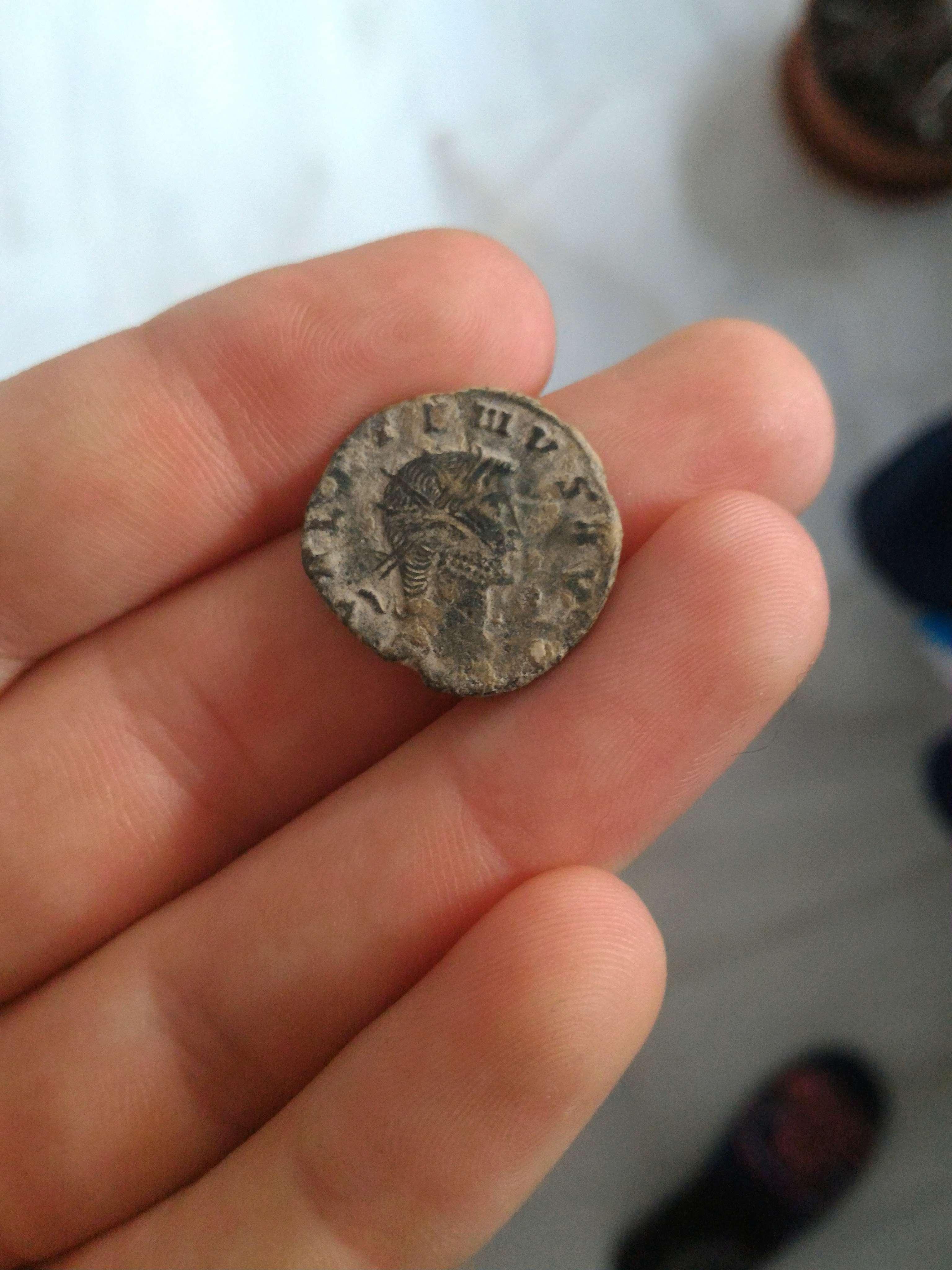 Antoniniano de Galieno. APOLLINI CONS AVG. Centauro avanzando a izq. Roma. 410_110
