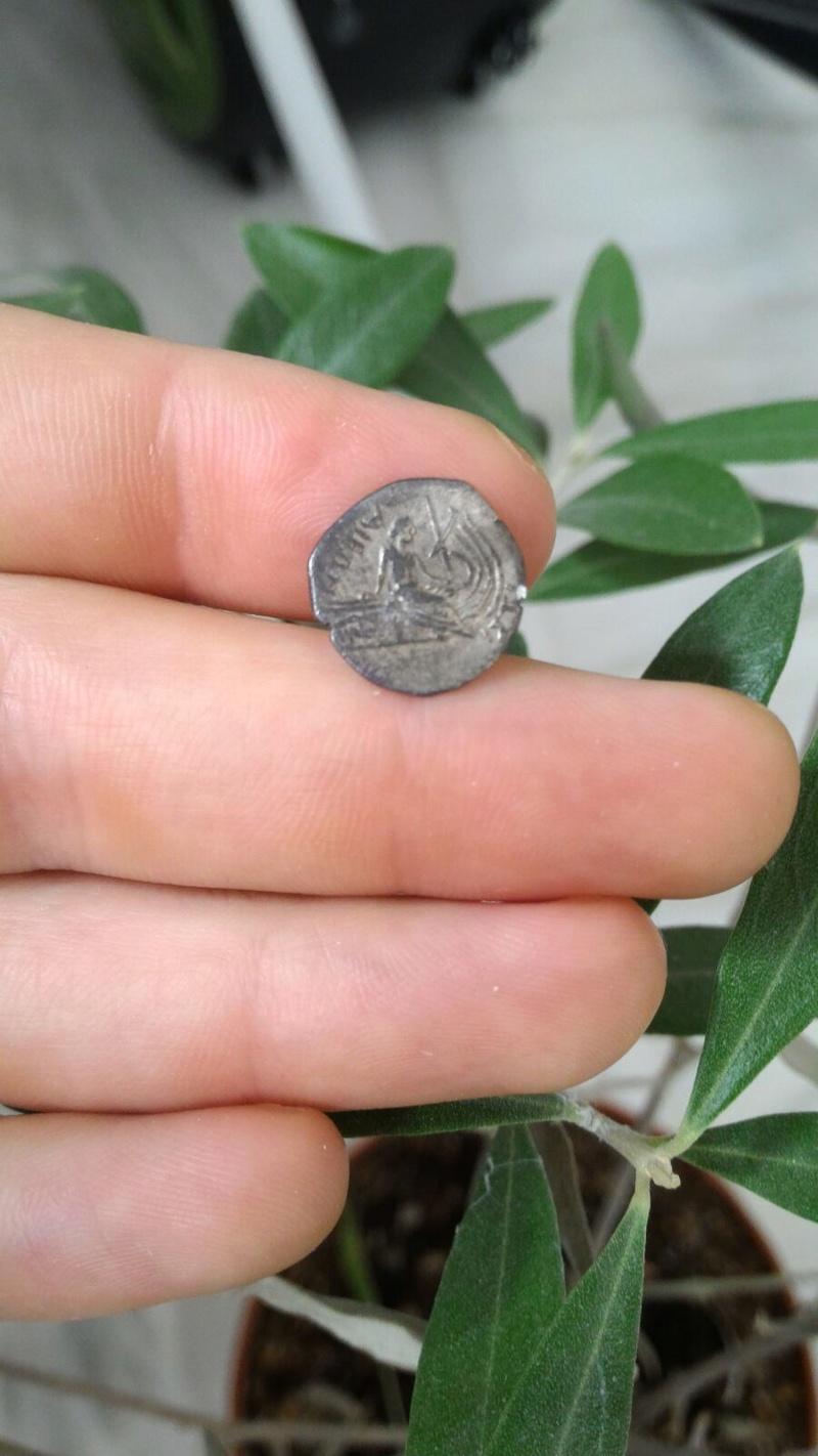 Moneda Griega de plata Img-2010
