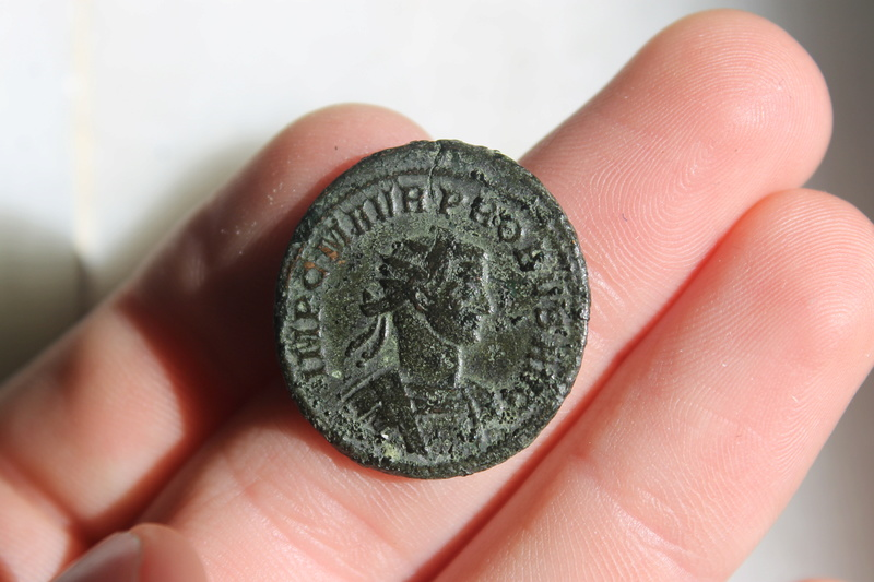 Aureliano de Probo. CONCORD MILIT. Probo dando la mano a Concordia. Siscia. Img_0039