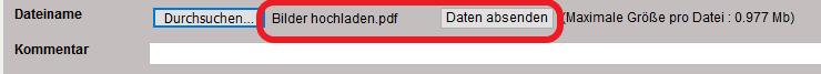 Dateien Upload und Download Upload13