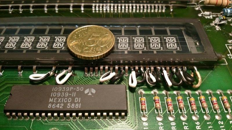 Réparation d'un afficheur alpha-numérique Gottlieb Sys80b (Gen1) 26063310