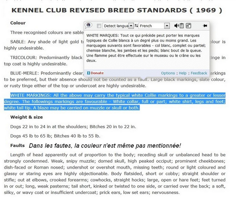Aspects administratifs et standards. 196910