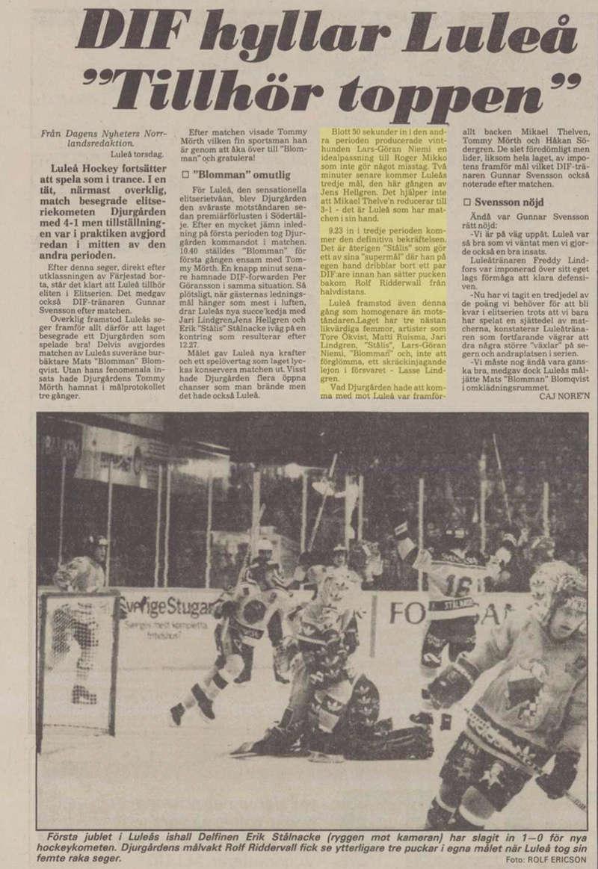 Minnesvärda Luleå Hockey stunder D72ae410