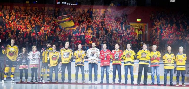 Luleå Hockeys lagkaptener Skyrma10