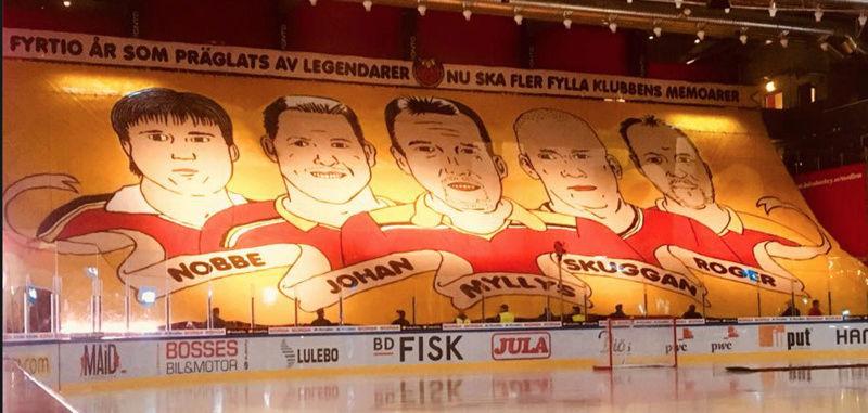 Luleå Hockeys lagkaptener Skyrma12