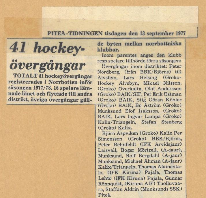 Seard Åberg - Mannen bakom Luleå Hockey Förening jubilerar Skyrma40