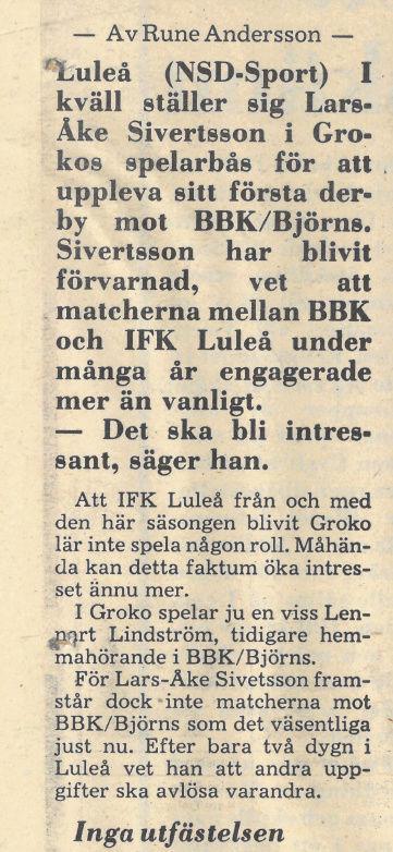 Seard Åberg - Mannen bakom Luleå Hockey Förening jubilerar Skyrma44