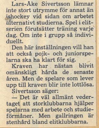 Seard Åberg - Mannen bakom Luleå Hockey Förening jubilerar Skyrma46