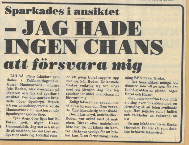 Seard Åberg - Mannen bakom Luleå Hockey Förening jubilerar Skyrma54