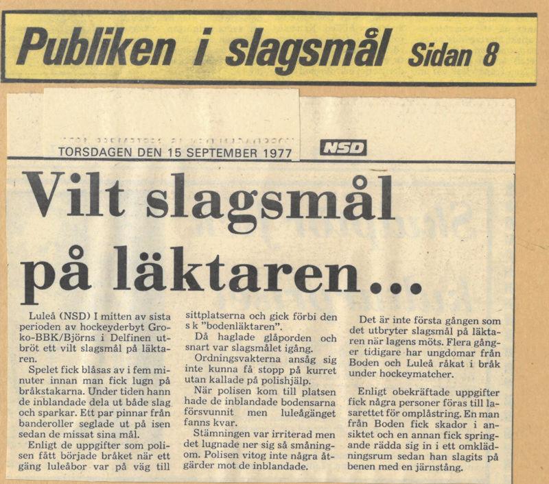 Seard Åberg - Mannen bakom Luleå Hockey Förening jubilerar Skyrma55