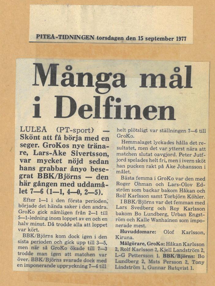 Seard Åberg - Mannen bakom Luleå Hockey Förening jubilerar Skyrma56