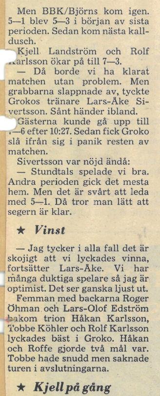 Seard Åberg - Mannen bakom Luleå Hockey Förening jubilerar Skyrma61
