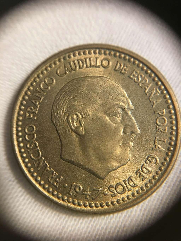 1 Peseta 1947 (*19-51) Estado Español  Img_3823