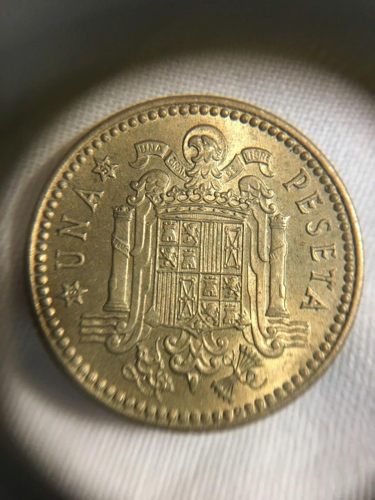 1 Peseta 1947 (*19-51) Estado Español  Img_3824