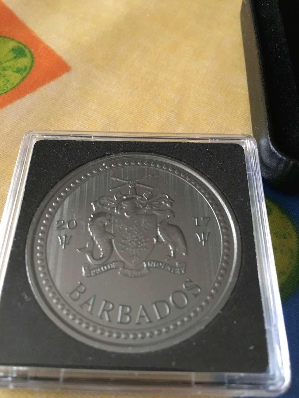 One dollar Barbados Golden Enigma edition Img_4012