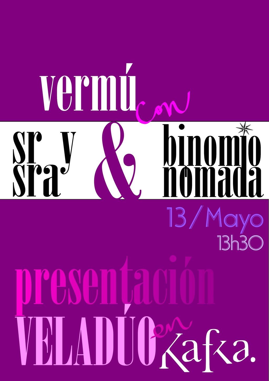 Veladúo IV festival de dúos, Valladolid. 19 octubre Cartel13