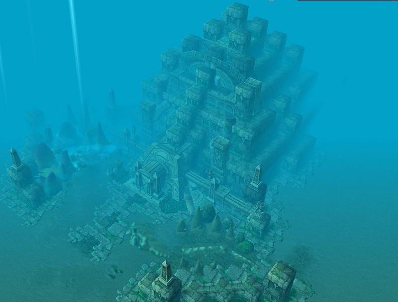 Ambientacion Submarina IMAGENES Templo10