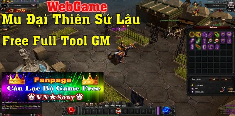 [WebGame] Mu Đại Thiên Sứ VH Free Full Tool GM Rv610