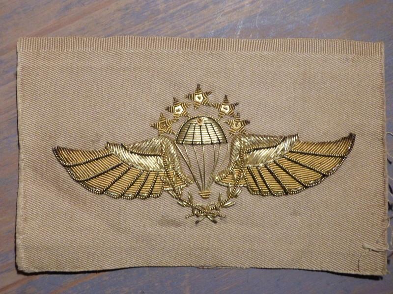 insigne parachutiste tissu P1180829