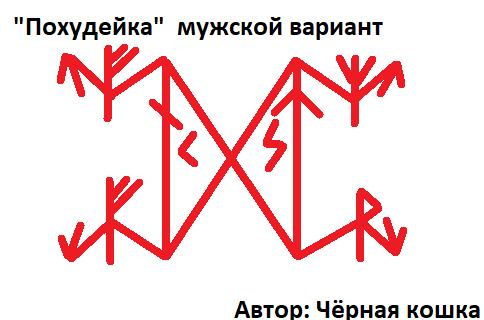 """Став """"Похудейка""""  муж и жен вариант   Автор Чёрная кошка Aode_d10"""