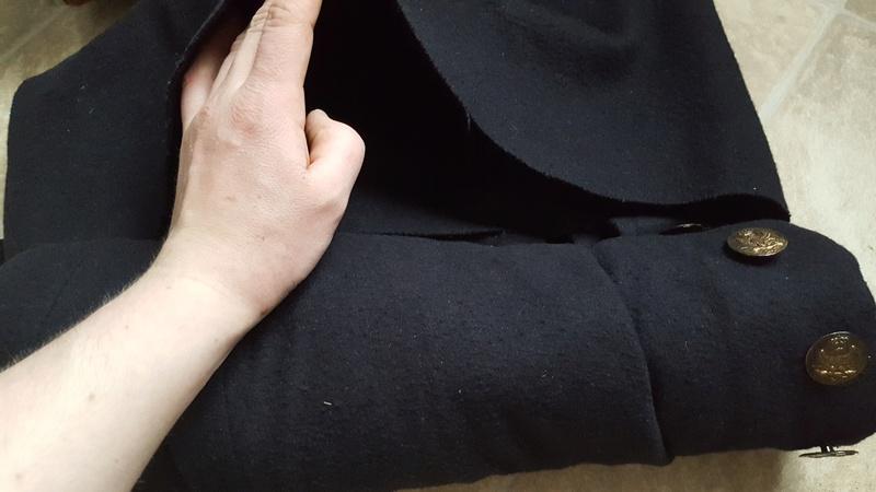 méthode pour rouler le manteau 20180410