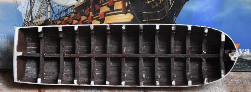 LA BRETAGNE vaisseau de 100 canons ALTAYA 1/80è - Page 3 Bzh4410