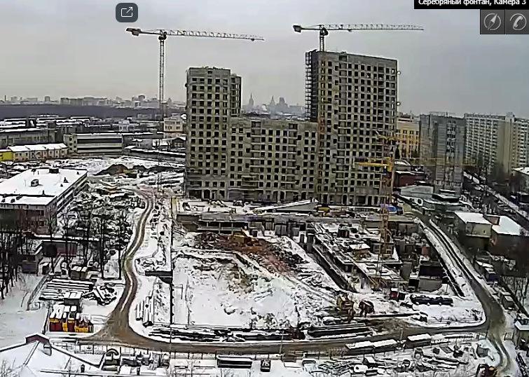Веб-камеры на площадке строительства ЖК «Серебряный фонтан»  - Страница 7 1316