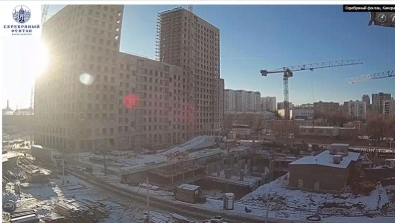 Веб-камеры на площадке строительства ЖК «Серебряный фонтан»  - Страница 6 444410