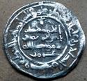 Dírham de Hixam II, al-Ándalus, 388 H 211