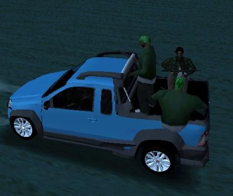 Gang Ride For Adapted Vehicles ( Passeio de gangs para carros adaptados) Screen33
