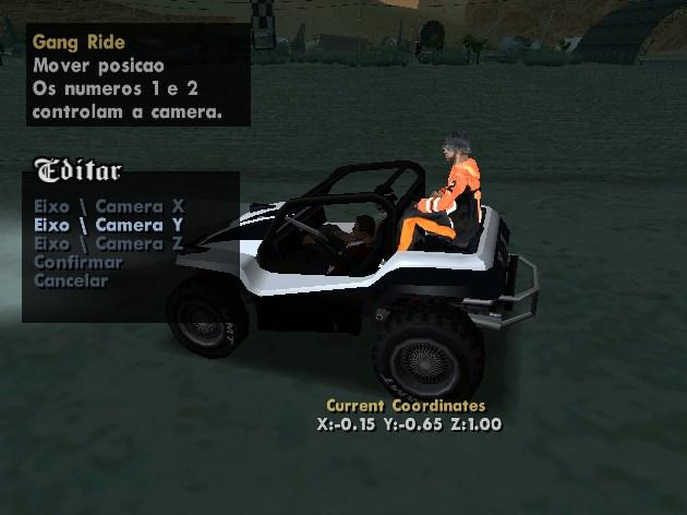 Gang Ride For Adapted Vehicles ( Passeio de gangs para carros adaptados) Screen37