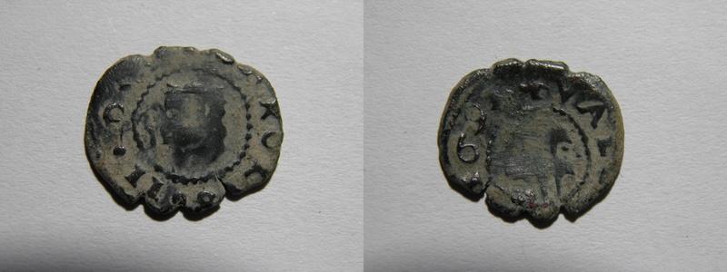 Dinero de Valencia, Carlos II 169? P3201912