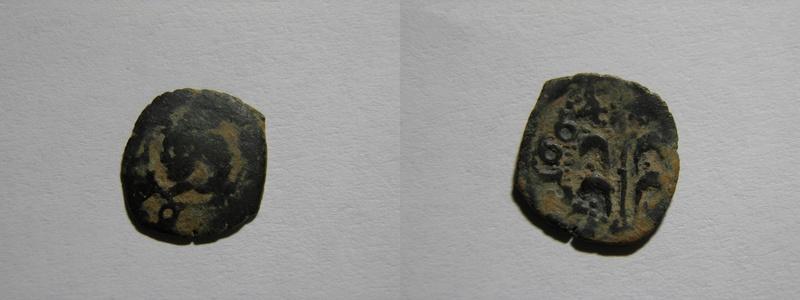 Dinero de Valencia, Felipe IV 1664 Pc281610
