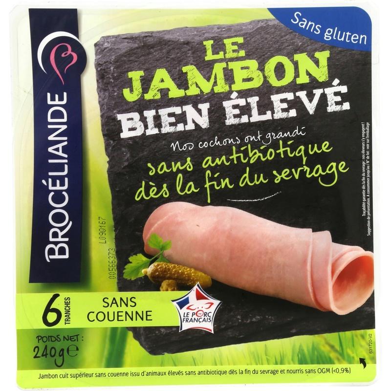 Jambon... lardons.... antibiotiques... Jambon10