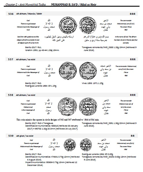 NOVEDAD EDITORIAL: A CATALOG OF THE SQUARE ISLAMIC COINS OF SPAIN, PORTUGAL, AND N.AFRICA 00000114