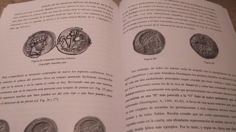 NOVEDAD EDITORIAL: Estudio de los denarios ibéricos de Bolskan  20171210