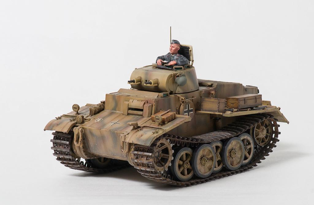 Panzerkampfwagen I Ausf.F (VK18.01) 110