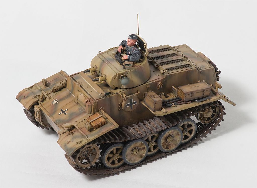 Panzerkampfwagen I Ausf.F (VK18.01) 1110