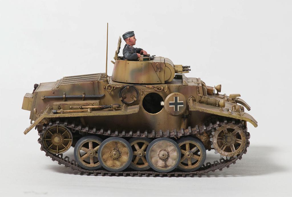 Panzerkampfwagen I Ausf.F (VK18.01) 1510