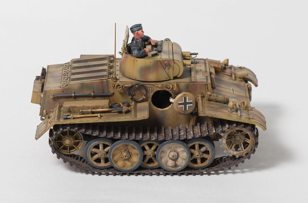 Panzerkampfwagen I Ausf.F (VK18.01) 1710