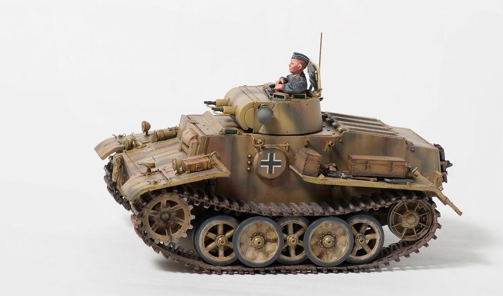 Panzerkampfwagen I Ausf.F (VK18.01) 410