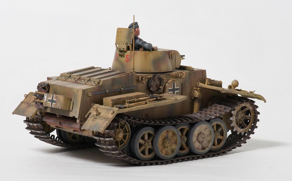 Panzerkampfwagen I Ausf.F (VK18.01) 710